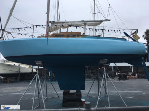 Laurent Giles Trekka 22 foot yacht