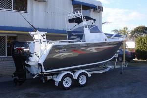 Brand new Horizon 570 Sportsfisher Elite heavy duty centre cabin aluminium boat.