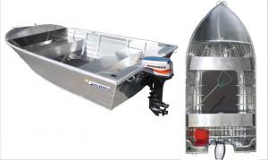 Brand new Horizon 445 Angler open aluminium boat.