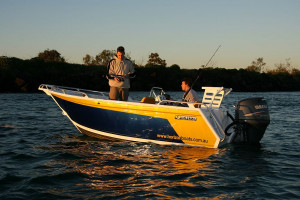Brand new Horizon 540 Northerner Deluxe side console aluminium boat.