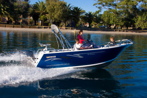 Brand new Horizon 515 Seabreeze aluminium bowrider.