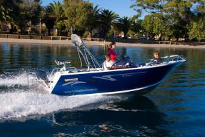 Brand new Horizon 540 Seabreeze aluminium bowrider.