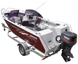 Brand new Horizon 570 Seabreeze Elite heavy duty aluminium bowrider.