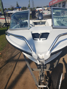 450 Escape Quintrex, trailer and 50hp Yamaha 4 stroke