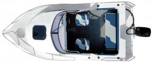 Brand new Horizon 540 Getaway aluminium cuddy cabin.