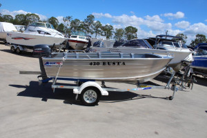NEW 2019 QUINTREX 420 BUSTA WITH 40VWHTOL FOR SALE