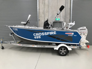 Stacer 499 Crossfire Centre Console 2019 Model
