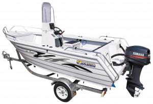 Brand new Horizon 445 Pacific deluxe Centre console aluminium boat.