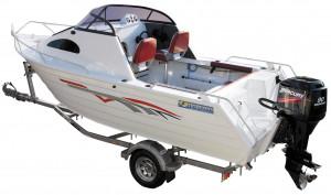Brand new Horizon 515 Getaway aluminium cuddy cabin.