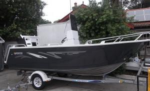 Brand new Horizon 485 Pacific deluxe centre console aluminium boat.