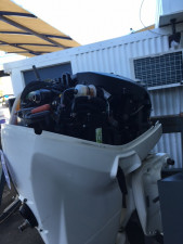 USED 2014 EVINRUDE 60HP FORWARD CONTROL FOR SALE