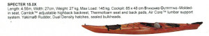 Brand new Dagger Spector 15 touring kayak with rudder reduced from $2199 to only $1499!