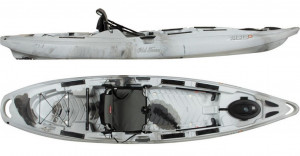 Brand new Predator MX fishing kayak by Old Town reduced by 40% saving you $1050!!!
