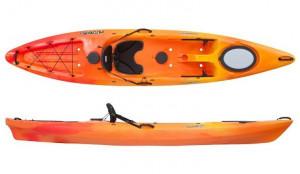 Brand new Perception Pescador 12 sit on top touring kayak.