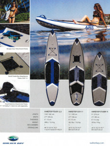 Brand new Walker Bay/Airis inflatable HARDTOPTOUR 12.5 inflatable SUP (Stand Up Paddle Board) reduced from $1649 to only $1099 !!! 1 ONLY
