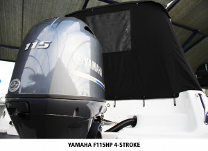 Baysport 595 Weekender + Yamaha F115hp 4-stroke package