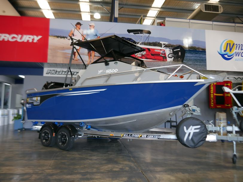 YELLOWFIN 5800 FOLDING HARD TOP - NEW 2019 RELEASE