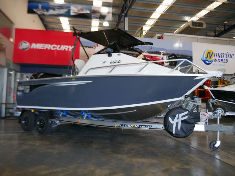 YELLOWFIN 6500 FOLDING HARD TOP - NEW 2019 RELEASE