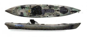 Brand new Ocean Kayak Prowler Ultra 4.1 kayak package with backrest, paddle and kayaking PFD!!!