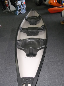 Brand new indestructable polyethylene Old Town Saranac 146 XT 3 seater canadian canoe for only $1429 with 2 free paddles!!!