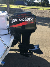 Used 2005 Quintrex 455 Coast Runner CV with 2005 60HP Mercury (58Hrs)