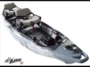Brand new Feel Free Lure II tandem sit on top kayak.