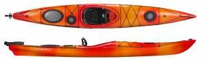 Brand new top quality Wilderness Systems Tsunami 145 touring kayak with rudder!