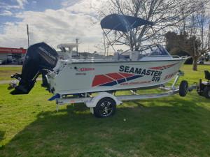 519 Seamaster Stacer, Alluminum trailer and 90hp Mercury 4 stroke