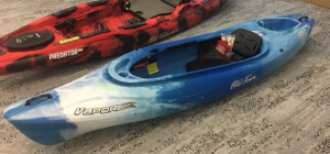 Brand new Old Town Vapor 10 recreational sit in kayak reduced from $829 to only $649! 1 only