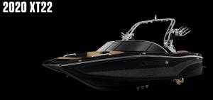 MasterCraft XT22 2020 Model - Midnight Black + Gunmetal Flake
