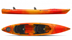 Brand new Wilderness Systems Pamlico 135T double sit in recreational kayak now in stock.