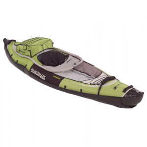 Brand new Sevylor Fastback single person inflatable kayak.