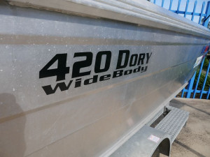 Quintrex 420 Dory Wide Body Open Tin