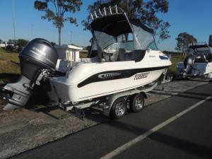 Used 585 Baysport Fisherman Package 2016 Built