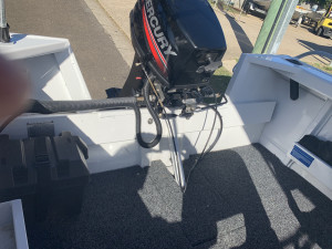 Used 2016 Brooker 420 Side console with 2015 Mercury 30Hp 2-stroke