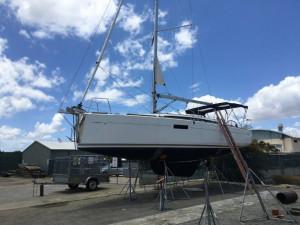 2017 Jeanneau Sun Odyssey 349 Lift Keel