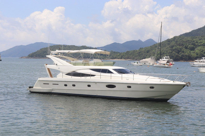 2004 Ferretti 620