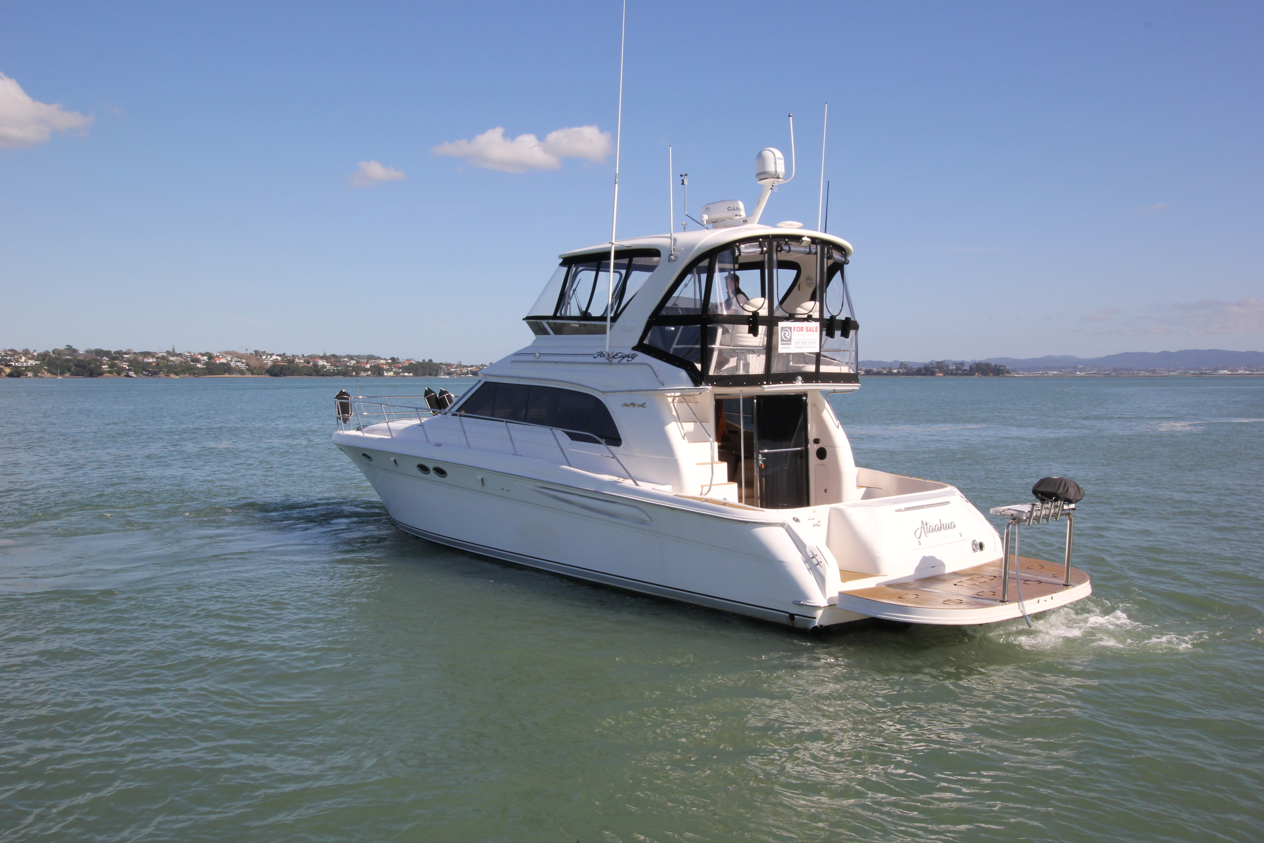 Searay 480 Sedan Bridge