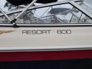 CRUISECRAFT 600 RESORT BOW RIDER