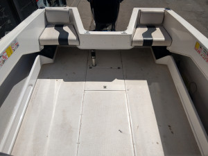 2003 Allison 195 Cuddy - 150hp EFI outboard only 60hrs