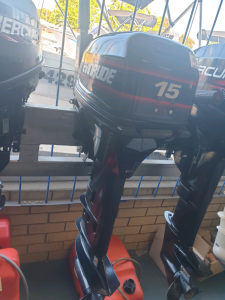 15hp Evinrude long shaft