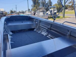 429 Rampage Stacer, alluminum trailer & 30hp Mercury 4 stroke