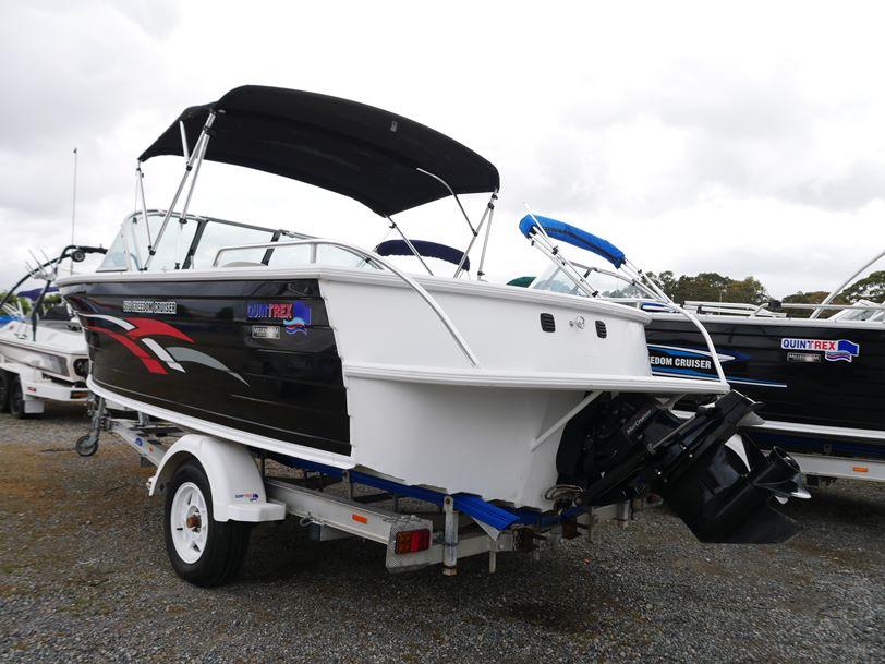 Quintrex 570 Freedom Cruiser - Bow Rider
