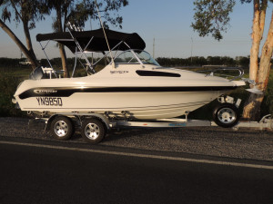 Used Baysport 545 Sports , family boating made easy 2016 model package