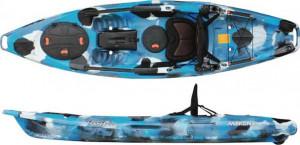 Brand new Feel Free Moken 10 Lite sit on top fishing kayak.