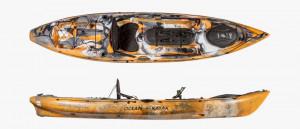 Brand new Ocean Kayak Trident 11 Angler fishing kayak.