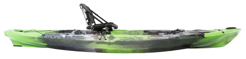 Brand New Wilderness Systems Radar 115 Pedal Powered Fishing Kayak!
