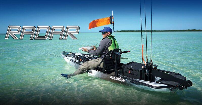 Brand New Wilderness Systems Radar 115 Pedal Powered Fishing Kayak!