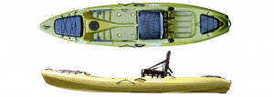 Brand new Jackson Coosa Elite sit on top/stand up fishing kayak.