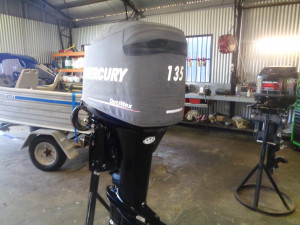 135hp Mercury optimax *FITTED PRICE*